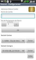 Screenshot of Faturei - Cartão de Crédito