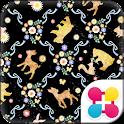 バンビとお花の森 for[+]HOMEきせかえテーマ icon