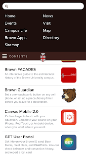 Brown University - screenshot thumbnail
