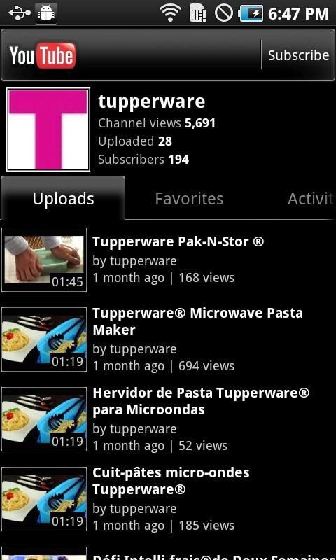 Tupperware US - screenshot