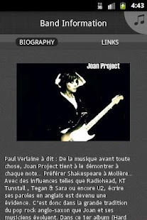 Joan Project - screenshot thumbnail
