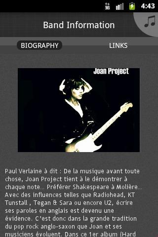Joan Project - screenshot