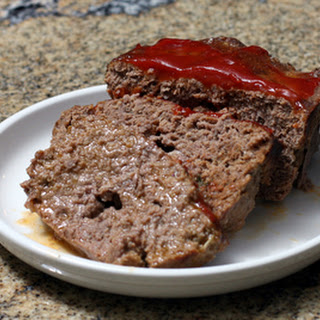 Savory Meatloaf With Oatmeal
