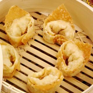 Crabby Cream Cheese Wontons.