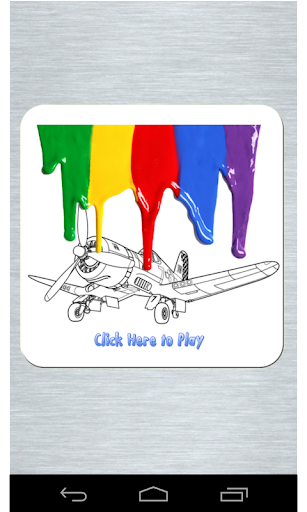 Aircraft Planes Coloring Page