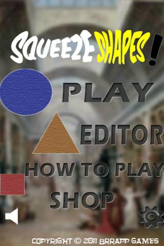 SqueezeShapes! - screenshot