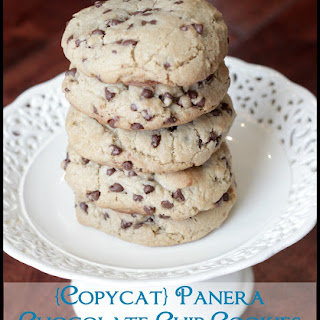 {Copycat} Panera Chewy Chocolate Chip Cookies.