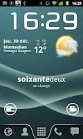 Screenshot of Text Battery Widget