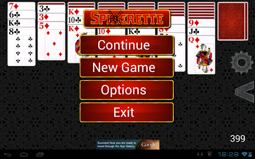 Spiderette Solitaire HD- screenshot thumbnail
