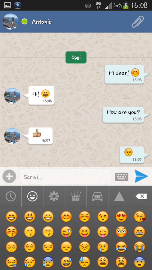 SimpleChat for Facebook (ads)- screenshot