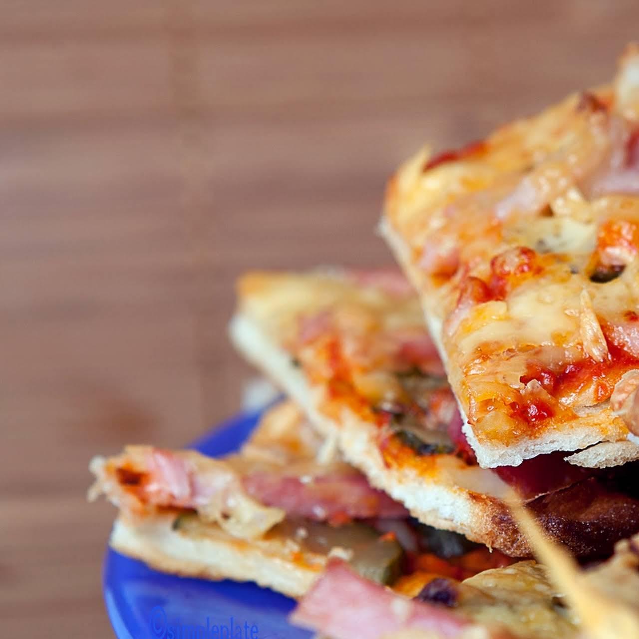 Homemade GF Pizza