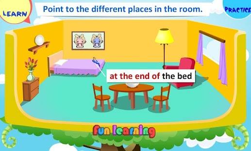 Kids Grammar Prepositions 1- screenshot thumbnail