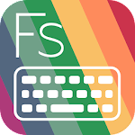 Flat Style Colored Keyboard 3.1.0