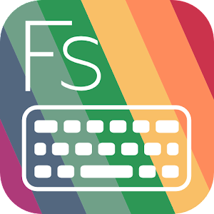 Flat Style Colored Keyboard apk