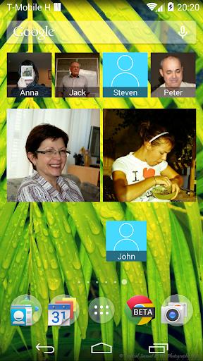 【免費通訊App】Contacts Widget-APP點子