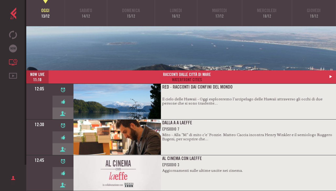 laeffe - La TV di Feltrinelli- screenshot