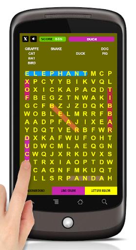 Hidden Words - Free Crosswords