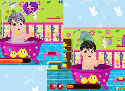 玩免費家庭片APP|下載天真活潑的嬰兒護理 - 女孩遊戲 app不用錢|硬是要APP