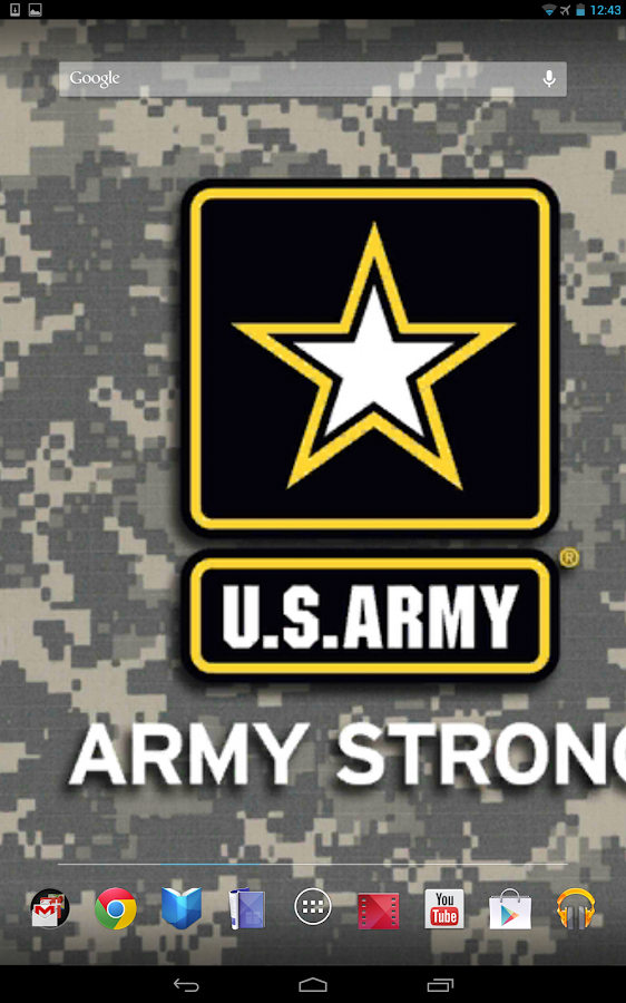 U.S. Army Graphics & Cadences - screenshot
