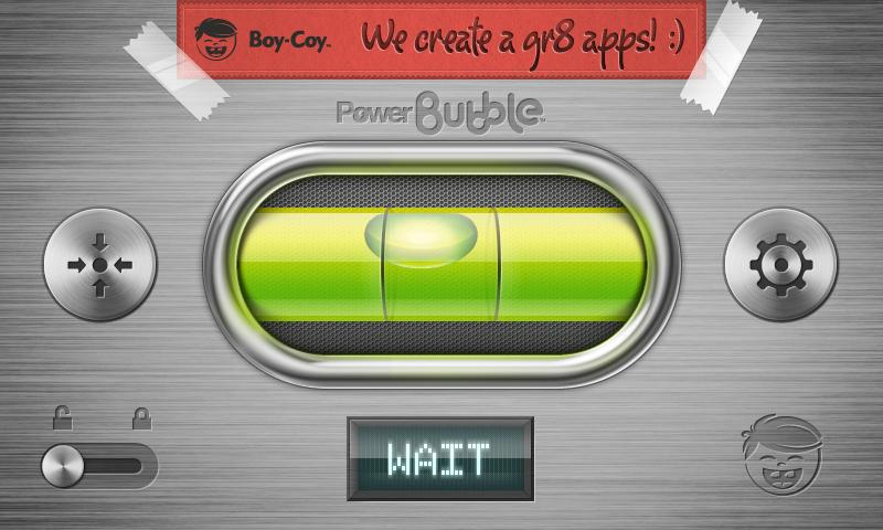 Power Bubble - spirit level- screenshot