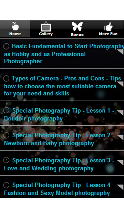 Best Photography Tips & Ideas - screenshot