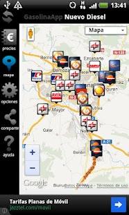 Gasolina App Precios en España- screenshot thumbnail