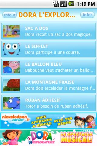 NICKELODEON JUNIOR - screenshot