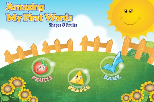 My First Word Fruit and Shape