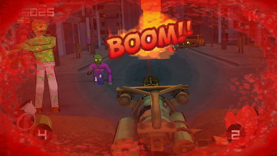 Minigun vs Zombies- screenshot thumbnail