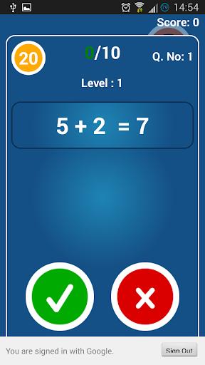 【免費解謎App】Math True False-APP點子