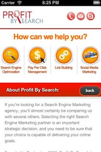 Profit By Search - screenshot thumbnail