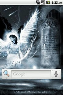 Angel Art Live Wallpaper - screenshot thumbnail