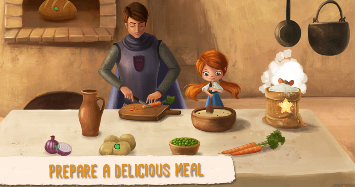 Senda and the Glutton Dragon- screenshot