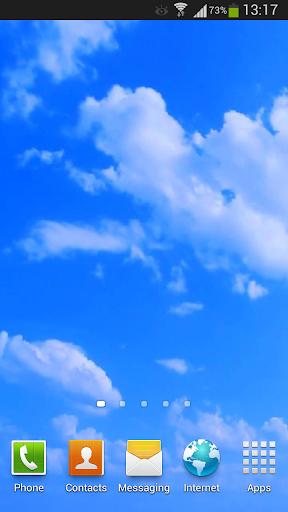 Blue Sky Live Wallpaper HD 3