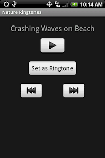 NATURE Ringtones - screenshot thumbnail