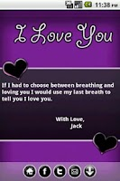 Screenshot of Make Love Cards