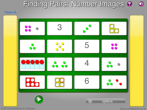 Pairs - Number Images