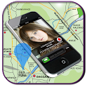 Mobile Caller Tracker Location icon