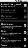 Screenshot of Sports Eye - Tennis
