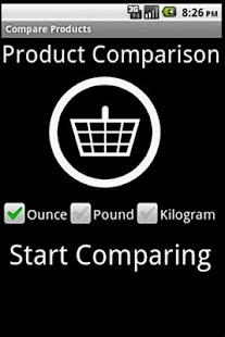 Products Compare- screenshot thumbnail