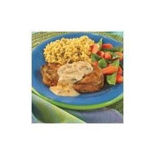 Herbed Pork Chops in Mushroom Sauce.