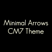 MinimalArrows CM7 Theme(Black)