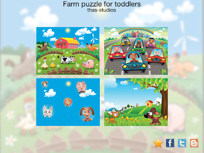 Farm animals for kids HD - screenshot thumbnail