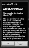 Screenshot of Aircraft ADF Free