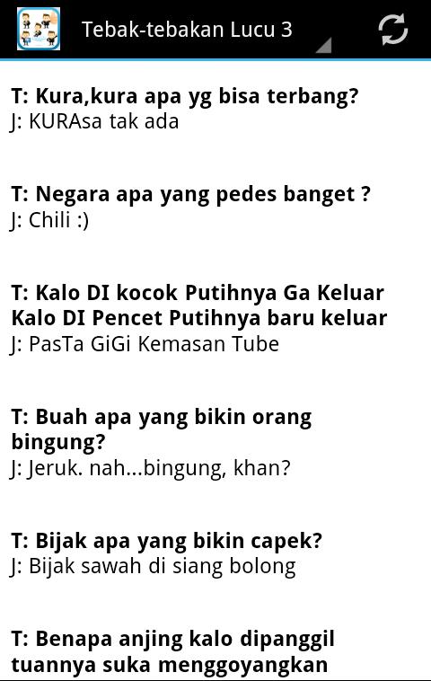 Tebak Tebakan Lucu Gokil - Android Apps on Google Play