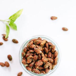 Basil Pesto Party Almonds