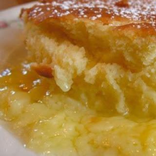 Crockpot Lemon Pudding Cake.