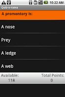 Screenshot of A Noiseless Patient Spider