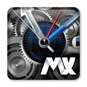 MXHome Theme BlueWatch