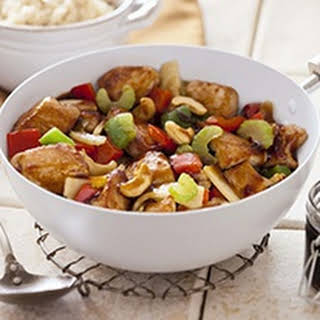 Stir Fry Chicken And Vegetables.